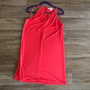 Bright orange Michael Kors dress *like new*